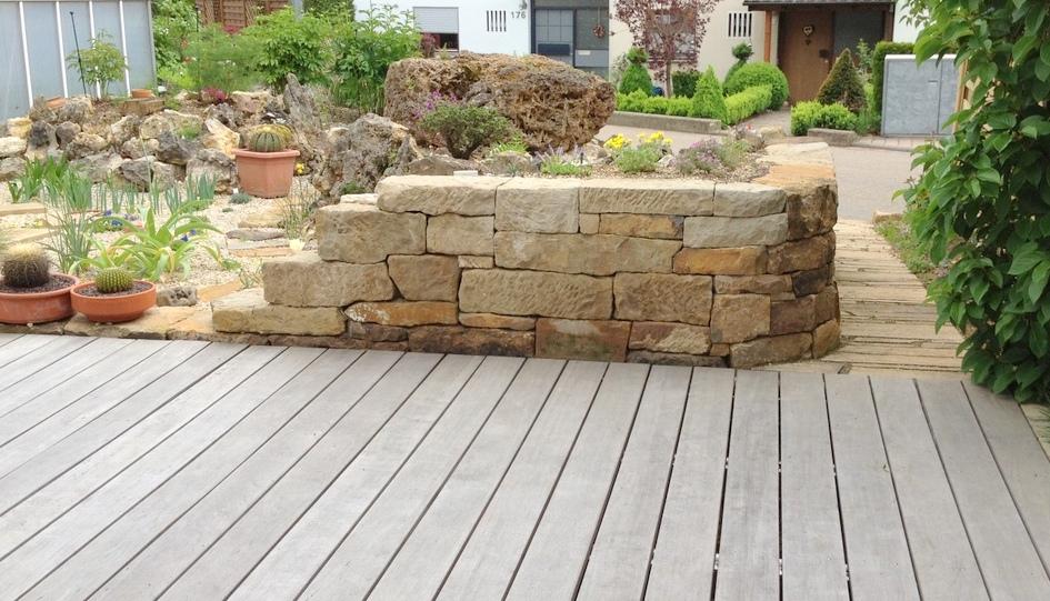 Steingarten Mit Granit #65: Grünimpuls